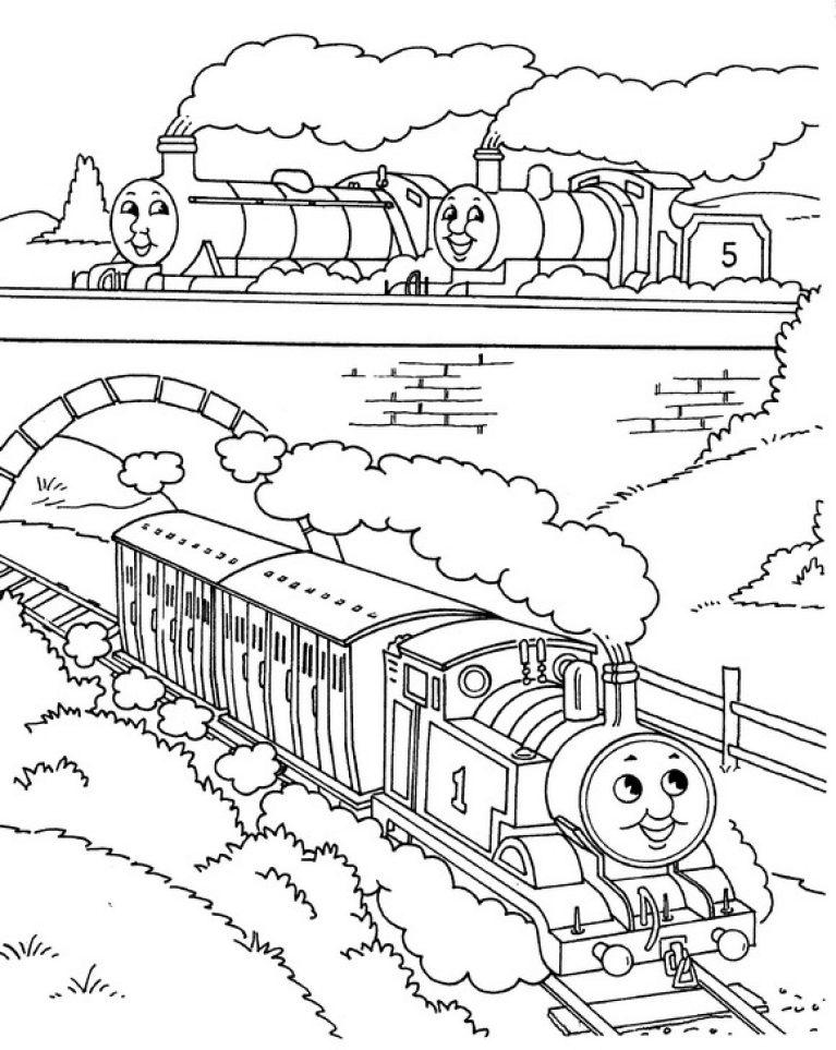 Поезда онлайн бесплатно раскраски