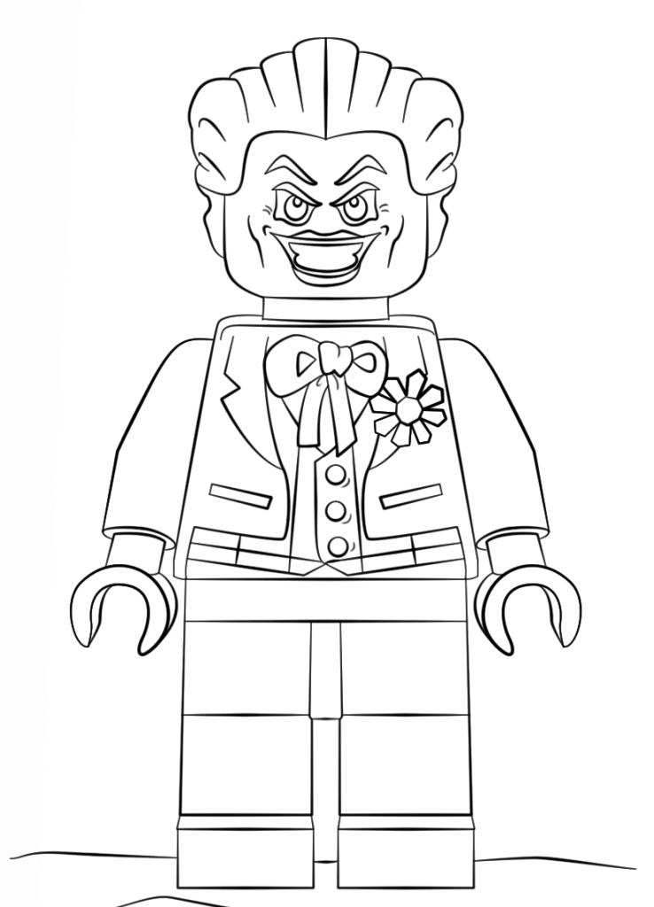 Джокер раскраска картинка
