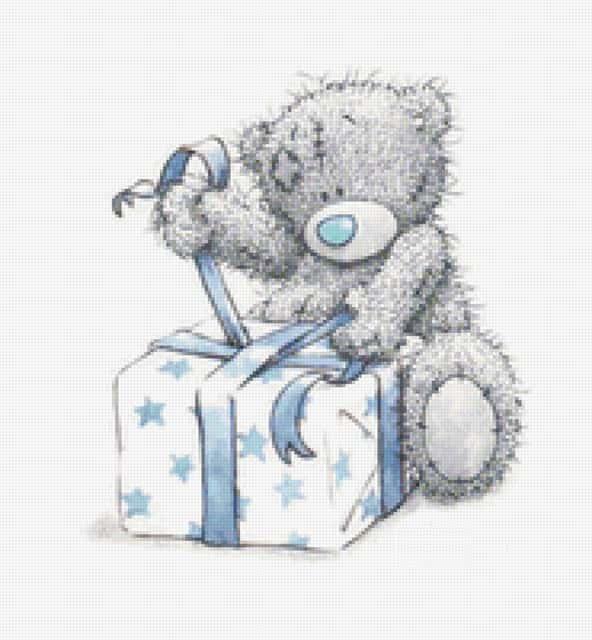Мишка Тедди для подарка картинка