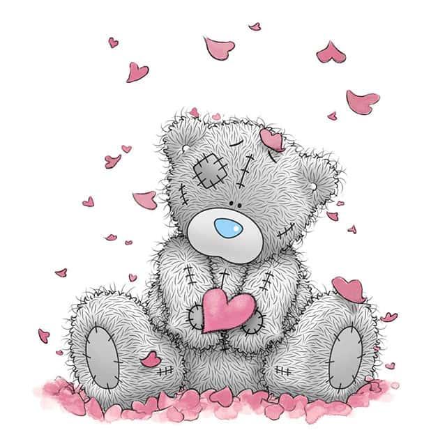 Любимый медведь Тедди картинка
