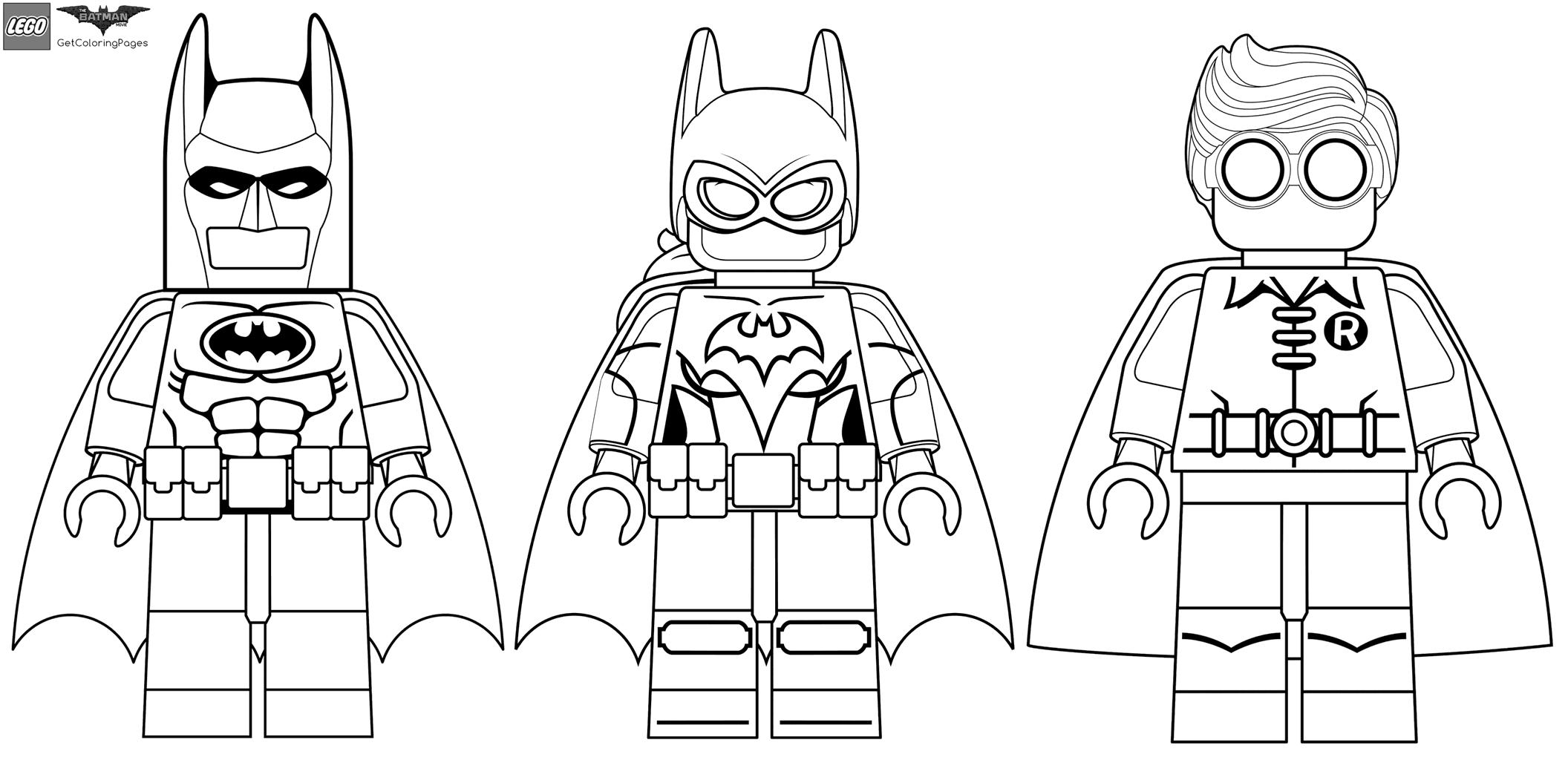 Раскраска лего бэтмен распечатать на один лист