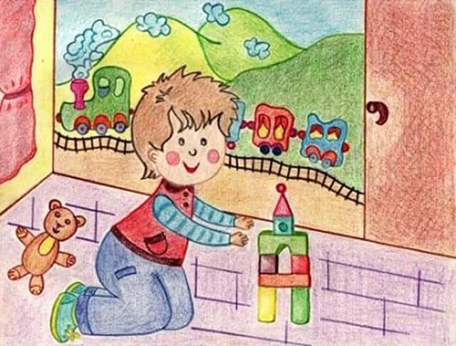 Стихи про кубики игрушечные